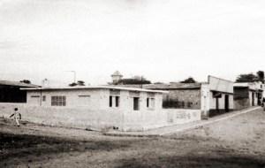 Prefeitura Municipal de Inhapi na Rua Padre Cícero Inhapi em 1983. Foto acervo IBGE