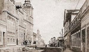 Igreja do Rosário dos Pretos em 1908