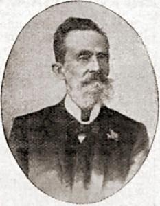 Cel. Galdino de Alcântara Taveiros, avô de Helena Taveiros. Foto: O Malho, Ano VI, nº 274, RJ, 14 de dezembro de 1907, p. 32