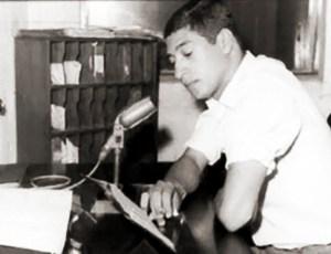 Ailton Villanova, noticiarista por muitos anos da Rádio Gazeta