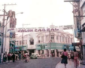 Anúncio da volta do Jalon Cabral à Gazeta, já nos anos 80