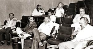 Assembleia do Sindjornal em maio de 1980. Acervo Bartolomeu Dresch