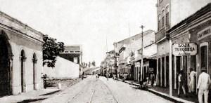 Rua Sá e Albuquerque em 1904