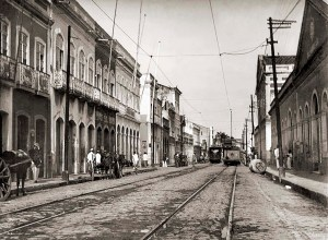 Rua Sá e Albuquerque nos anos 20