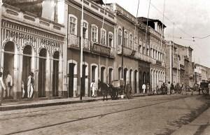 Rua Sá e Albuquerque nos anos 30