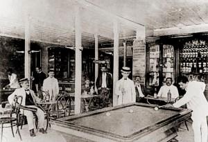 Salão de jogos do Café Colombo