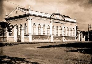 Escola D. Pedro II nos anos 20. Hoje é sede da Academia Alagoana de Letras