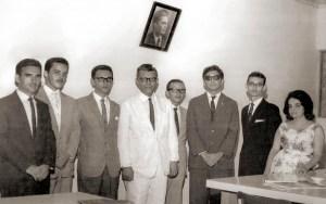 Inauguração do Diretório Acadêmico de Engenharia no início dos anos 60