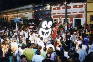 Último desfile dos Meninos da Albânia no Jaraguá Folia de 2003