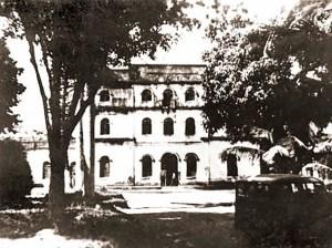 Prédio Central da Escola Agrícola Floriano Peixoto em 1962