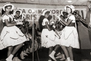 Pastoril no auditório da Rádio Difusora em 1963