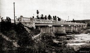 Ponte em Capela no ano de 1921