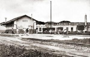 Praça João Pessoa e a Estação CFN em Murici