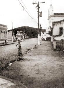 Rua 7 de Setembro em Murici nos anos 70