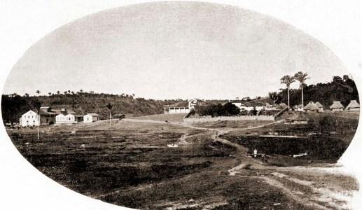 Vista geral da Usina Esperança em 1920