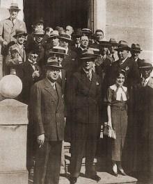 Lili Lages entre os deputados de 1934