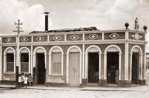 Sede de uma empresa elétrica em Traipú, com unidade geradora à diesel