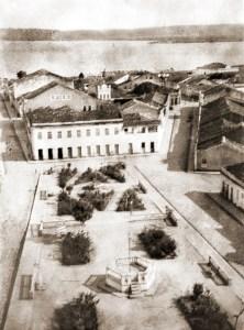 Praça da Matriz no Pilar, atual Praça Floriano Peixoto