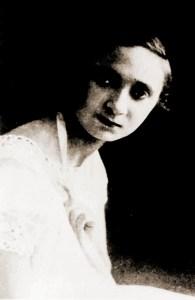 Maria Aline Sarmento em foto publicada na revista Para Todos Ano V, Nº 220, 1923, p. 25