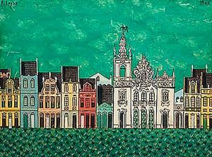 Sobrados é uma pintura de 1963
