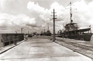 O cais do Porto de Maceió foi inaugurado em 1940, com a presença de Getúlio Vargas