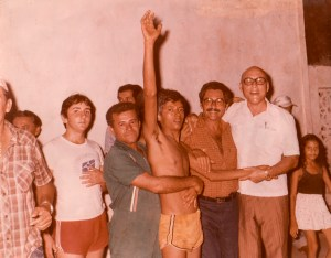 Marcelo Vieira, Xavier, Cícero Souza Nenén), José Moura Rocha e Mozart Damasceno
