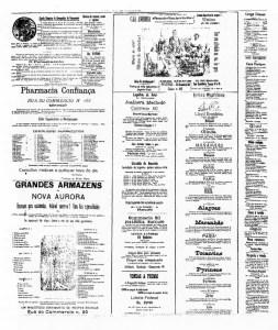 Propaganda, anúncios e classificados no Diário Oficial de Alagoas nos primeiros anos