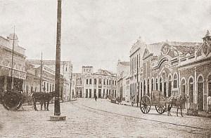 Rua do Comércio no início do século XX