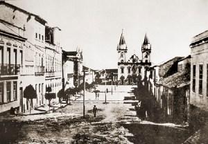 Igreja de São Gonçalo Garcia dos Homens Pardos, em Penedo em 1920