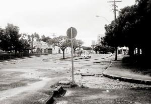 Parque Gonçalves Ledo em 2004, antes do viaduto. Foto de Sávio Almeida