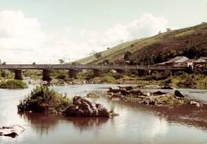 Ponte Gurganema sobre o Rio Paraíba em Viçosa