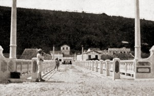 Ponte sobre o Rio Paraíba em 1921