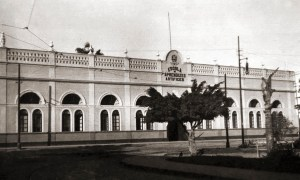 Escola de Aprendizes Artífices na Praça Sinimbu, local onde funcionou o Liceu Alagoano a partir de 1879. No local foi construido o prédio da Faculdade de Engenharia e depois ocupado pela reitoria da Ufal