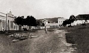 Praça em Viçosa de 1921
