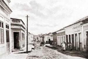 Rua de Viçosa em 1921