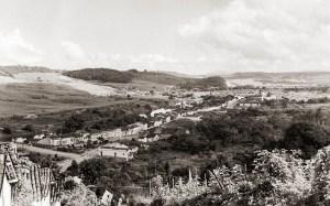 Vista parcial de Atalaia em 1958