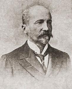Albuquerque Lins, Secretário da Fazenda do  Estado de São Paulo. O MALHO, Ano VI, nº 244, 18 de maio de 1907