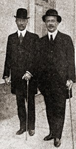 Eusébio de Andrade e Natalício Camboim. Foto: Fon-Fon