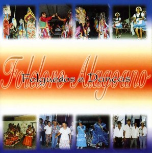 Capa do CD Folguedos e Danças