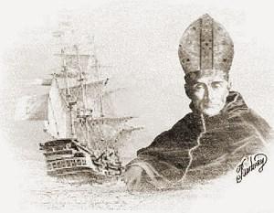 D. Pero Fernandes Sardinha foi o 1º Bispo do Brasil