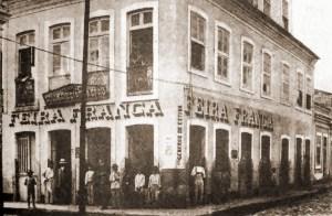 Feira Franca na esquina da Av. Moreira Lima com a Rua Boa Vista