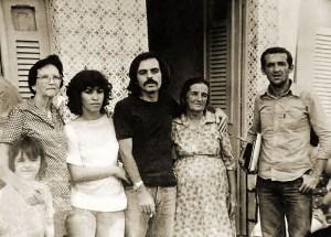Fátima Torres, Rholine Sonde com sua mãe Maria Cavalcante da Silva e Ródio Nogueira