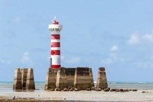 Farol da Ponta Verde em Maceió, Alagoas