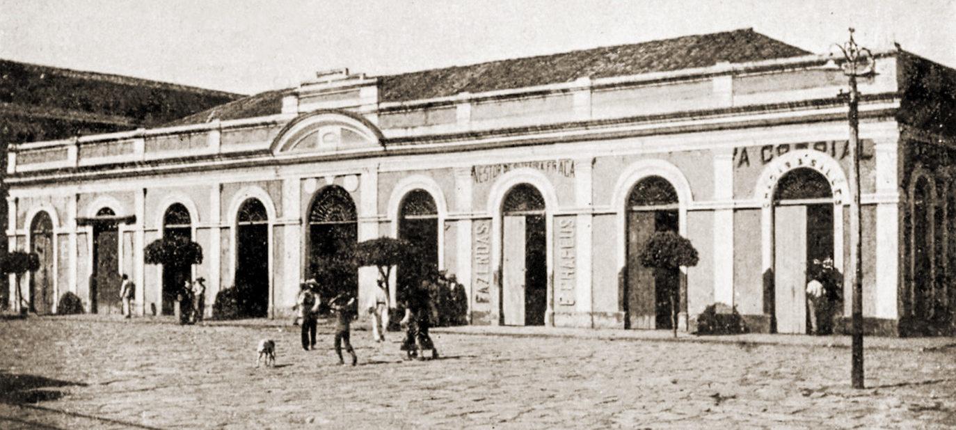 Mercado Público de Penedo em 1922