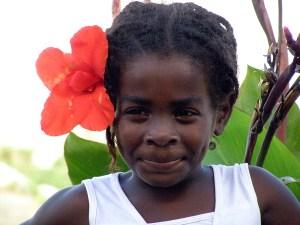 Menininha quilombola. Foto de Christiano Marinho
