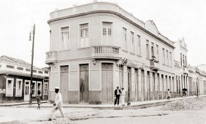 Av. Moreira Lima durante a reforma no final dos anos 20