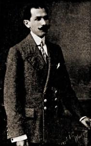 Moreira Lima em 1914, ainda subinspetor da Guarda Civil