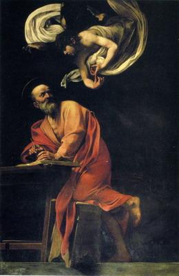 San Mateo y el Ángel de Caravaggio
