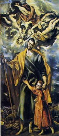 San José con el Niño de El Greco