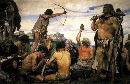 Recreación de los cazadores recolectores más recientes en el tiempo